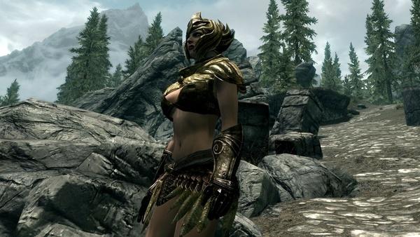 Bild der Galerie The Elder Scrolls 5: Skyrim - Sexy Leichte-Rüstungs-Mods