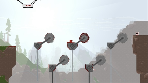 Screenshot zu Super Meat Boy - Screenshots