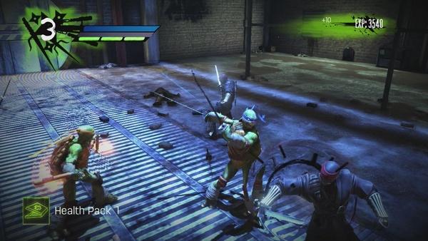 Screenshot zu Teenage Mutant Ninja Turtles: Out of the Shadows - Screenshots