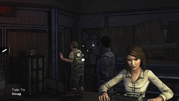 Screenshot zu The Walking Dead: Episode 1 - A New Day - Screenshots