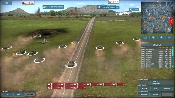 Screenshot zu Wargame: AirLand Battle - Screenshots