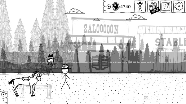 Screenshot zu West of Loathing - Screenshots