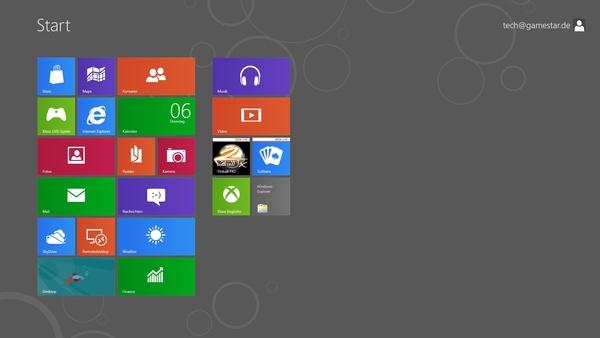 Bilder zu Windows 8 Beta - Screenshots