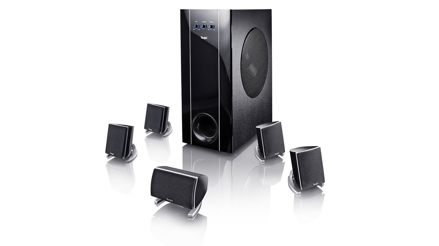 teufel concept e 400 gewichtiges 5 1 system gamestar. Black Bedroom Furniture Sets. Home Design Ideas