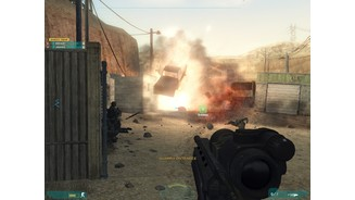 Ghost Recon Advanced Warfighter 2 mit PhysX