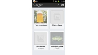 Google Plus Android Bilder