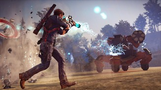 Just Cause 3 - Screenshots zum DLC »Mech Land Assault«