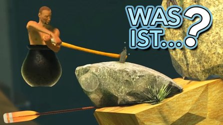 Getting Over It with Bennett Foddy - Video: Dieses Spiel treibt uns zur Weißglut