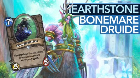 Hearthstone: Midrange-Druide - Knochenross, Plagen & Co.