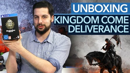 Kingdom Come: Deliverance - Unboxing-Video: Collector's Edition mit Henry-Statue ausgepackt