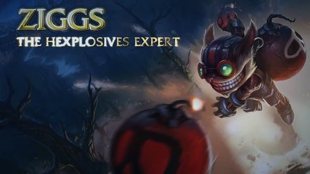 League of Legends - Champion-Spotlight zu Ziggs, der Hexplosions-Experte