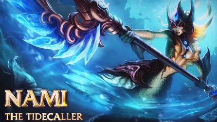 League of Legends - Gameplay-Trailer: Nami, the Tidecaller
