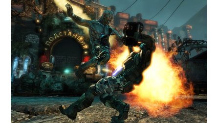 Singularity - Explosive Screenshots aus dem Shooter