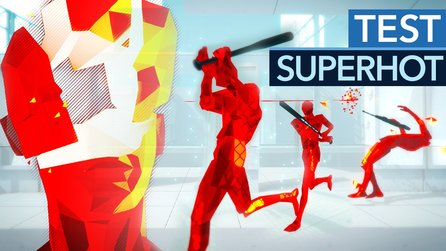 Superhot - Test-Video zum abstrakten Zeitlupen-Shooter