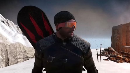 The Witcher 3 - CD Projekt entwarf alberne Snowboard-Demo mit Geralt, hier die Bilder