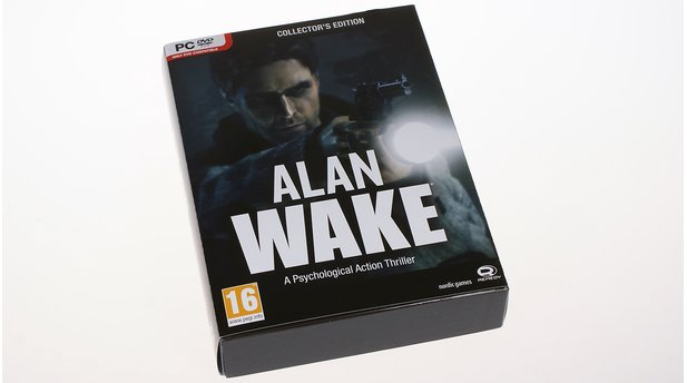 Alan Wake - Blick in die Collectors Edition