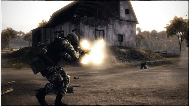 <b>Battlefield: Bad Company 2</b><br/>Screenshots der Multiplayer-Karte »Harvest« aus dem VIP Map-Pack 7 für Bad Company 2.
