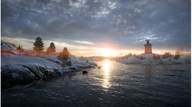 <b>Battlefield 1: In the Name of the Tsar</b><br>Screenshot von der Karte Albion