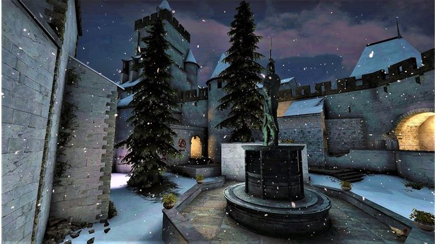 <b>Counter-Strike: Global Offensive</b><br>Screenshots von den Maps im Weihnachts-Look
