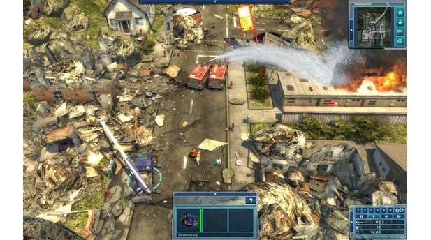 <b>Emergency 2012</b><br/>PC-Screenshots aus der Test-Version von Emergency 2012.