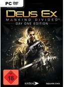 Cover zu Deus Ex: Mankind Divided