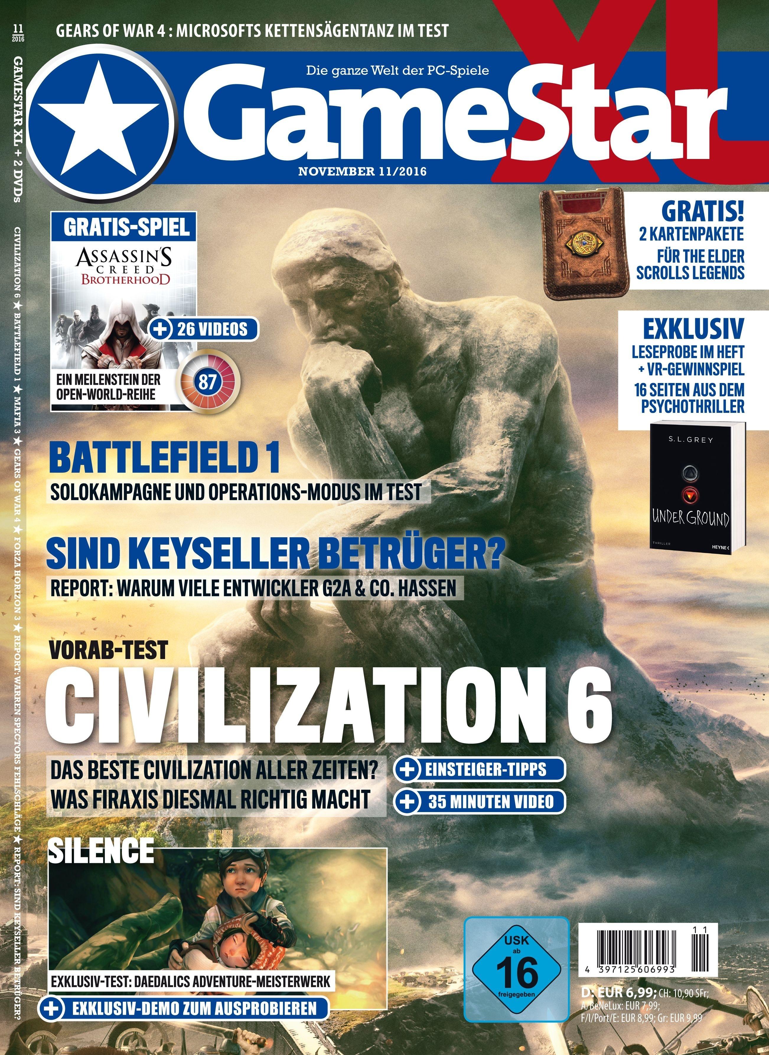 GameStar XL 10/2016