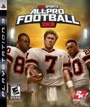 Cover zu All-Pro Football 2K8 - PlayStation 3