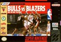 Cover zu Bulls vs. Blazers and the NBA Playoffs - SNES