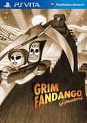 Cover zu Grim Fandango Remastered - PS Vita