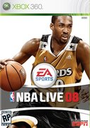 Cover zu NBA Live 08 - Wii