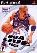 Cover zu NBA Live 2003 - PlayStation 2