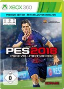 Cover zu Pro Evolution Soccer 2018 - Xbox 360