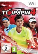 Cover zu Top Spin 4 - Wii