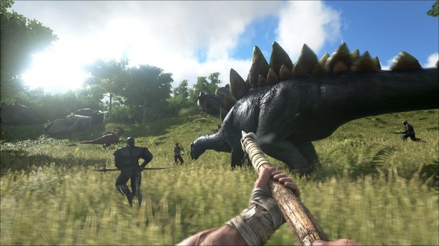 ARK: Survival Evolved kommt am 2. Juni als Steam Early-Access.