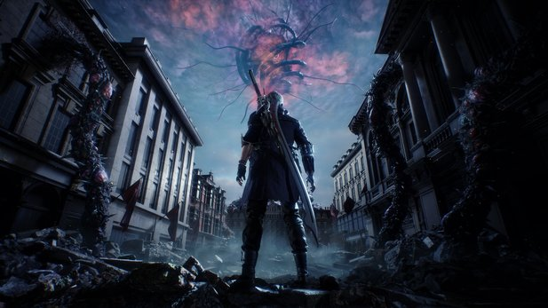 Devil May Cry 5 in der Vorschau für Xbox One X.