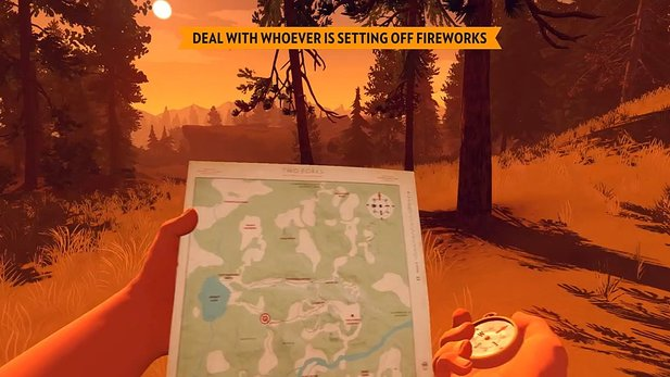Firewatch - Gameplay-Demo mit Entwickler-Kommentar