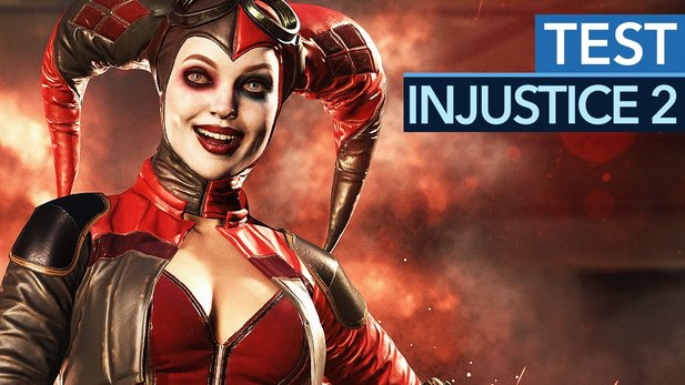 Injustice 2 - Test-Video zur zweiten Runde des Superhelden-Prüglers
