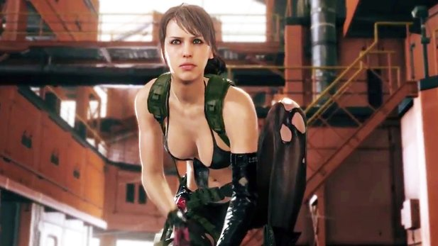 Metal Gear Solid 5: The Phantom Pain - Trailer stellt Scharfschützin Quiet vor