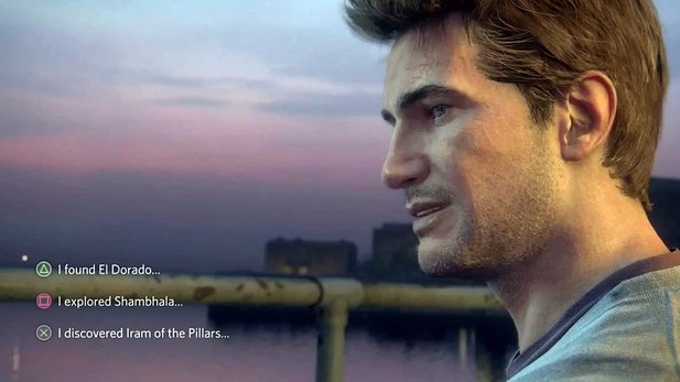 Uncharted 4 - Trailer mit Dialog-Option