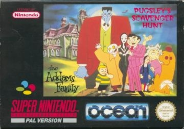 Cover zu Addams Family: Pugsley's Scavenger Hunt, The