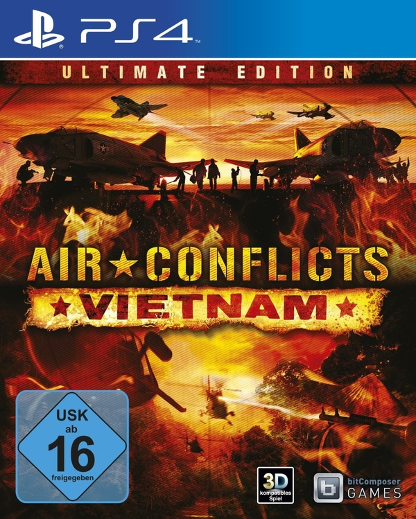 Cover zu Air Conflicts: Vietnam - Ultimate Edition