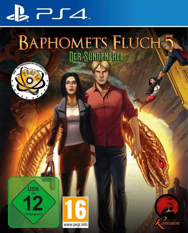 Cover zu Baphomets Fluch 5 Premium Edition