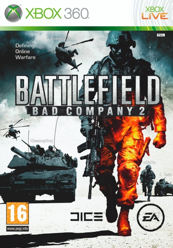 Cover zu Battlefield: Bad Company 2