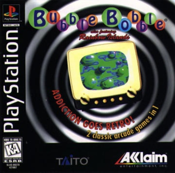 Cover zu Bubble Bobble featuring Rainbow Islands