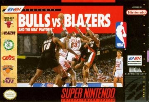 Cover zu Bulls vs. Blazers and the NBA Playoffs
