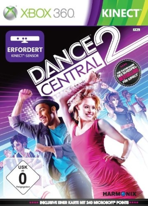 Cover zu Dance Central 2