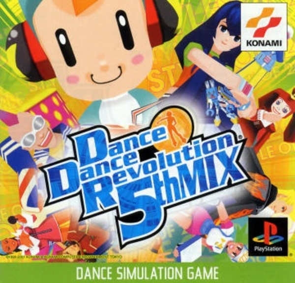 Cover zu Dance Dance Revolution 5th Mix