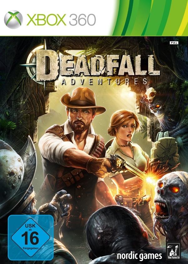 Cover zu Deadfall Adventures