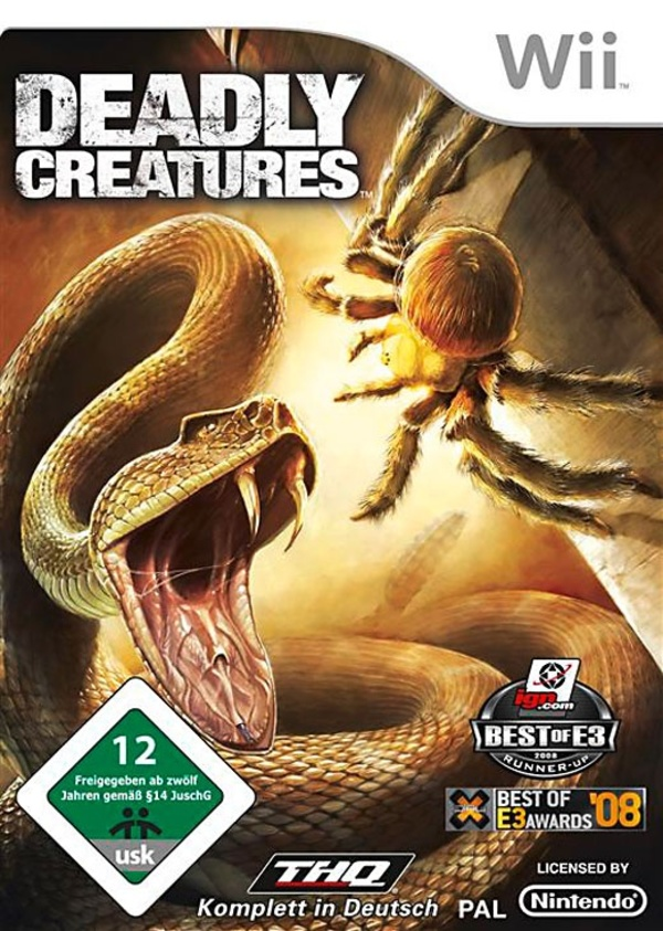 Cover zu Deadly Creatures