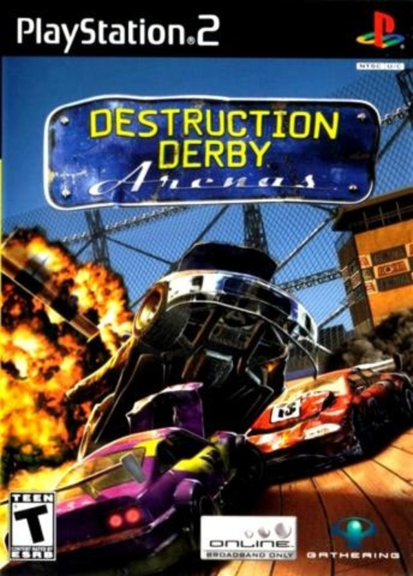 Cover zu Destruction Derby Arenas